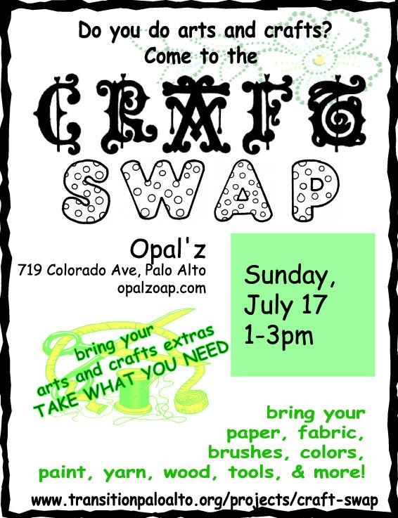 Craft swap 3