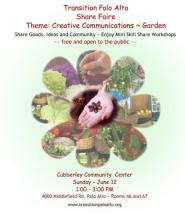 2016 June Share Faire flyer